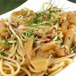 Bakt pasta med fennikel