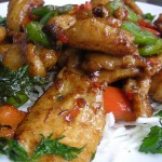 Kyllingfilet – Fylt Med Ertesalat