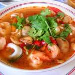 Tom Yam Kung Suppe
