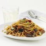 Spaghetti med ansjosfilet og kapers