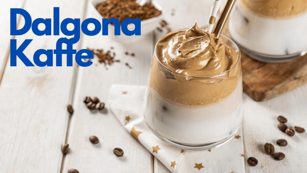 Dalgona kaffe oppskrift